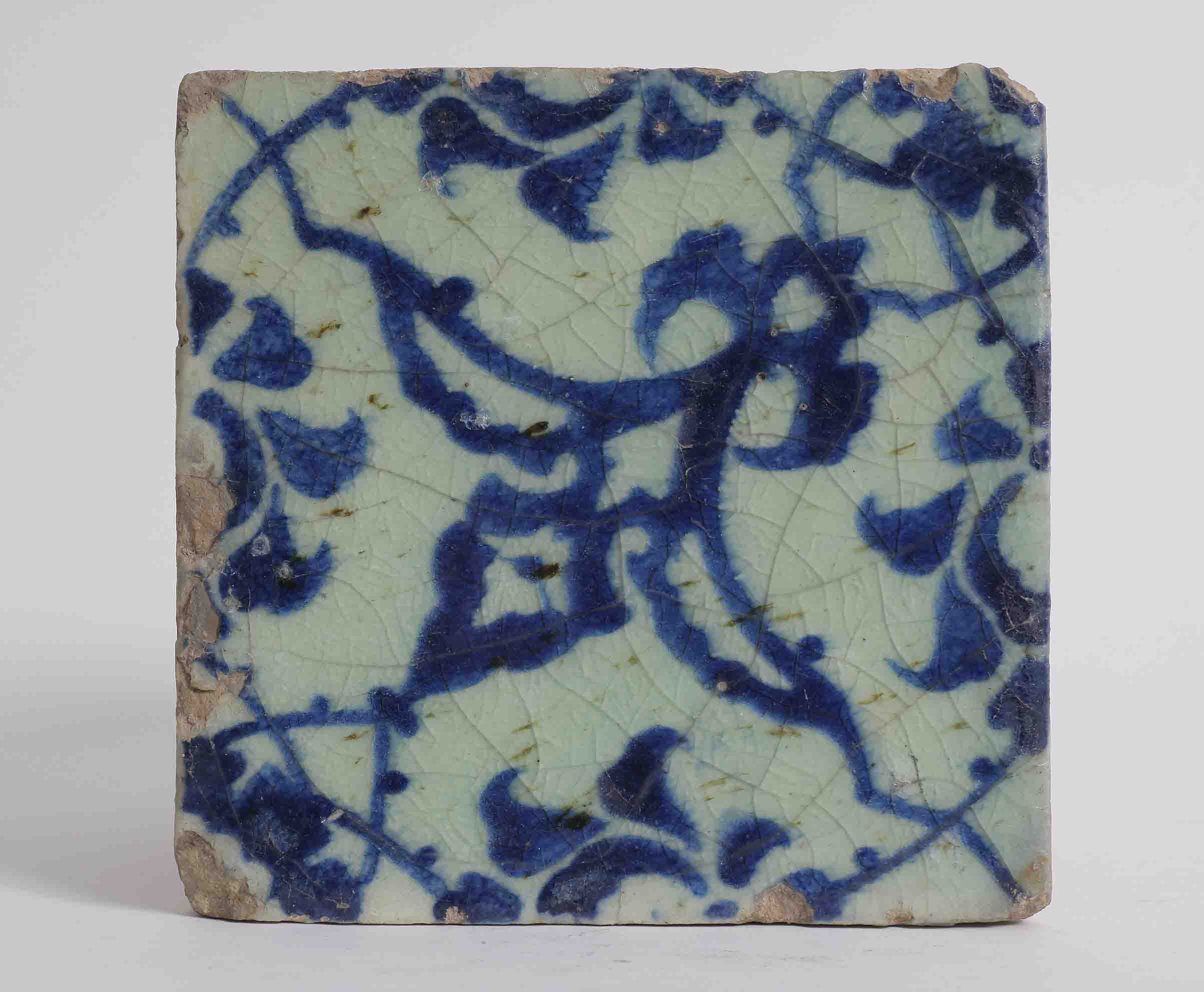 A ceramic tile from the structure of the dome of the rock 16th a ceramic tile from the structure of the dome of the rock 16th century dailygadgetfo Gallery