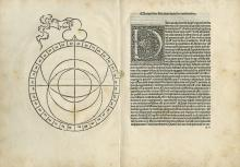 Two Astrological Works - Venice, 1485 - Abraham Ibn Ezra - Incunabula - Missing Copy