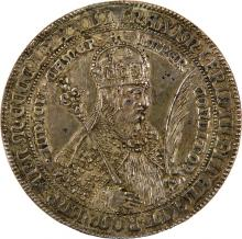 Silver Medal with Portraits of Emperor Maximillian I and the Duchess of Burgundy - Prague, 17th Century