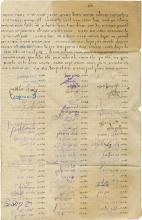 Collection of Paper Items on Women's Right to Vote - Safed, 1928-1930