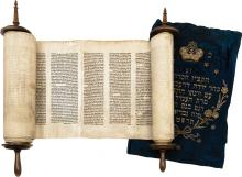Sefer Torah - Austro-Hungary, Early 19th Century
